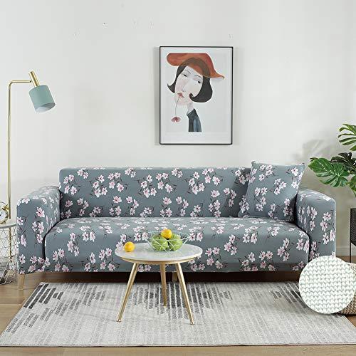 PEMISCOT Sofa Covers Kussensloop Stretch Patroon Stoelhoezen Universele Elastische Stof Beschermer Slipcovers 3 Seater (Sofa) Sh-1