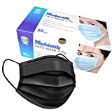 PROTECT YOURSELF WITH 3 PLY SURGICAL FACE MASKS : With BFE ≥ 95 %, the mask can protect you and your loved ones from pollution & diseases. The mask filters is up to 0.3 Microns and Ensures your Safety. 3 LAYERS PROTECTION : Outer layer is a water-res...
