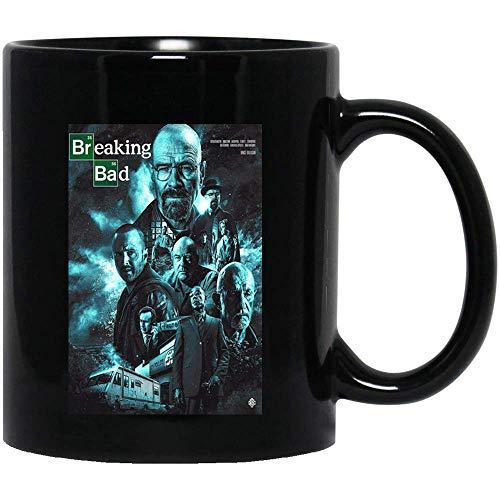 Breaking Movie Bad Neo-Western serie tv Poster Walter White Jesse Pinkman Walter White Jr. tazze caffè o tè