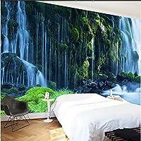 カスタム3D壁紙クラシック滝自然風景壁画寝室リビングルーム家の装飾3D壁壁画壁紙-430Cmx300Cm