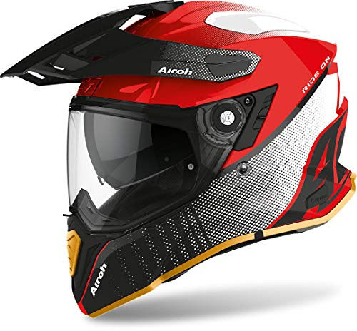 Airoh CASCO COMMANDER PROGRESS LIMITED RED EDIT M