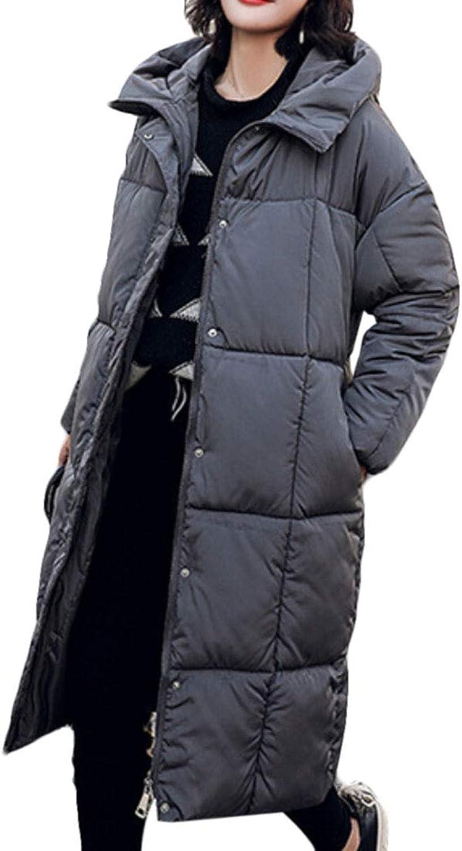 WSPLYSPJY Women's Hood Packable Down Quilted Jacket Warm Lightweight Puffer Coat