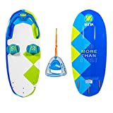 ZUP DoMore Board and 2.0 Handle Combo, All-in-One Performance Board with Tow Hook, Trainer Board, Wakeboard, Kneeboard and Water Skis for Water Sports, Boating, Wakey