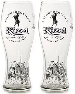 Kozel vasos de pinta 568 ml (2 unidades