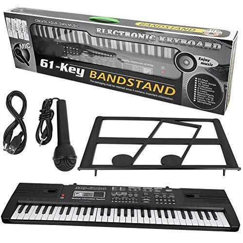 Instrumento musical electrónico portátil, teclado de piano...