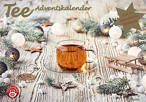 Tee-Adventskalender 2020 - Teekalender - Adventskalender - Teesorten - Genusskalender - 55,5 x 39 x 2 cm