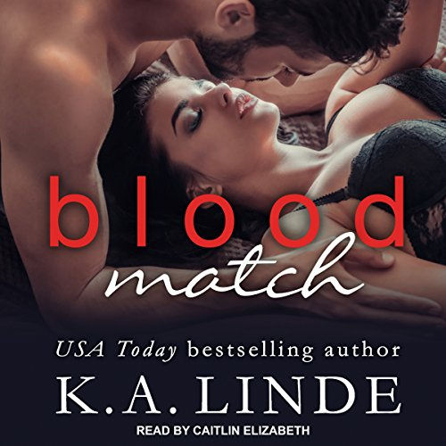 Blood Match audiobook cover art