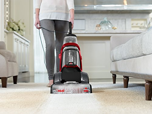 BISSELL Proheat 2X Revolution Carpet and Upholstery Cleaner, 1548C, Red