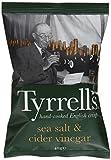 Tyrrell's Chips Lisses Sel de Mer/Vinaigre de Cidre 40 g
