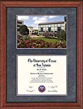Wordyisms UT San Antonio (UTSA) Diploma Frame with University Center Photo