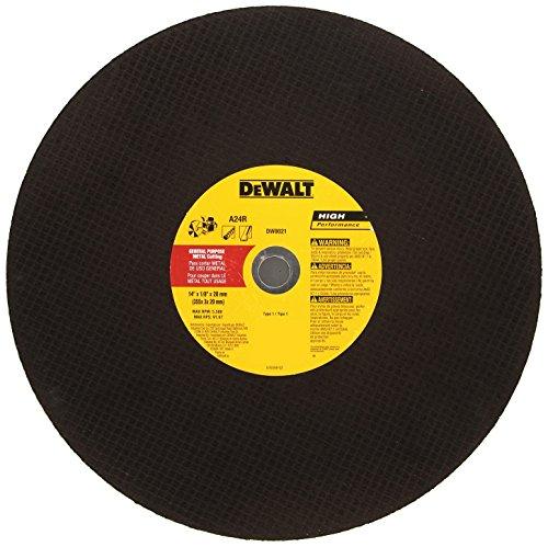 DeWalt DW8021 14 x 1/8 x 20mm Metal Portable Saw Cut-off Wheel