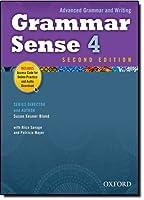 Grammar Sense 4 (Advanced Grammar and Writing)