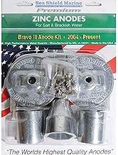 Sea Shield Marine Zinc Streamline Collar Anode 1-3//4