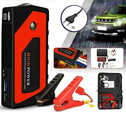 yin Arranque de emergencia para coche, 12 V, portátil, con puerto USB