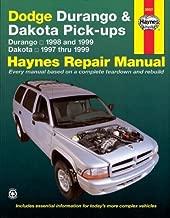Dodge Durango '98'99 & Dakota '97'99 (Haynes Repair Manuals) 1st edition by Haynes, John (2000) Paperback