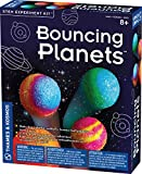 Thames & Kosmos Bouncing Planets STEM Experiment Kit   Make Your Own Rubbery, Colorful Planet Models!   Explore Elasticity and Polymers  3-Language Instruction Manual (English, French, Spanish)