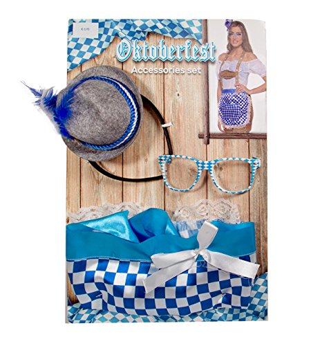 Folat 63449 Oktoberfest Accessoires Set für Frauen