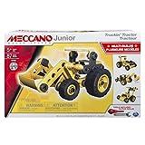 Meccano Junior Tractor Juego de construcción de varios modelos de vehículos 87pieza(s) - Juegos de construcción (Juego de construcción de varios modelos de vehículos, 5 año(s), 87 pieza(s), Negro, Amarillo, 350 mm, 80 mm) , color/modelo surtido