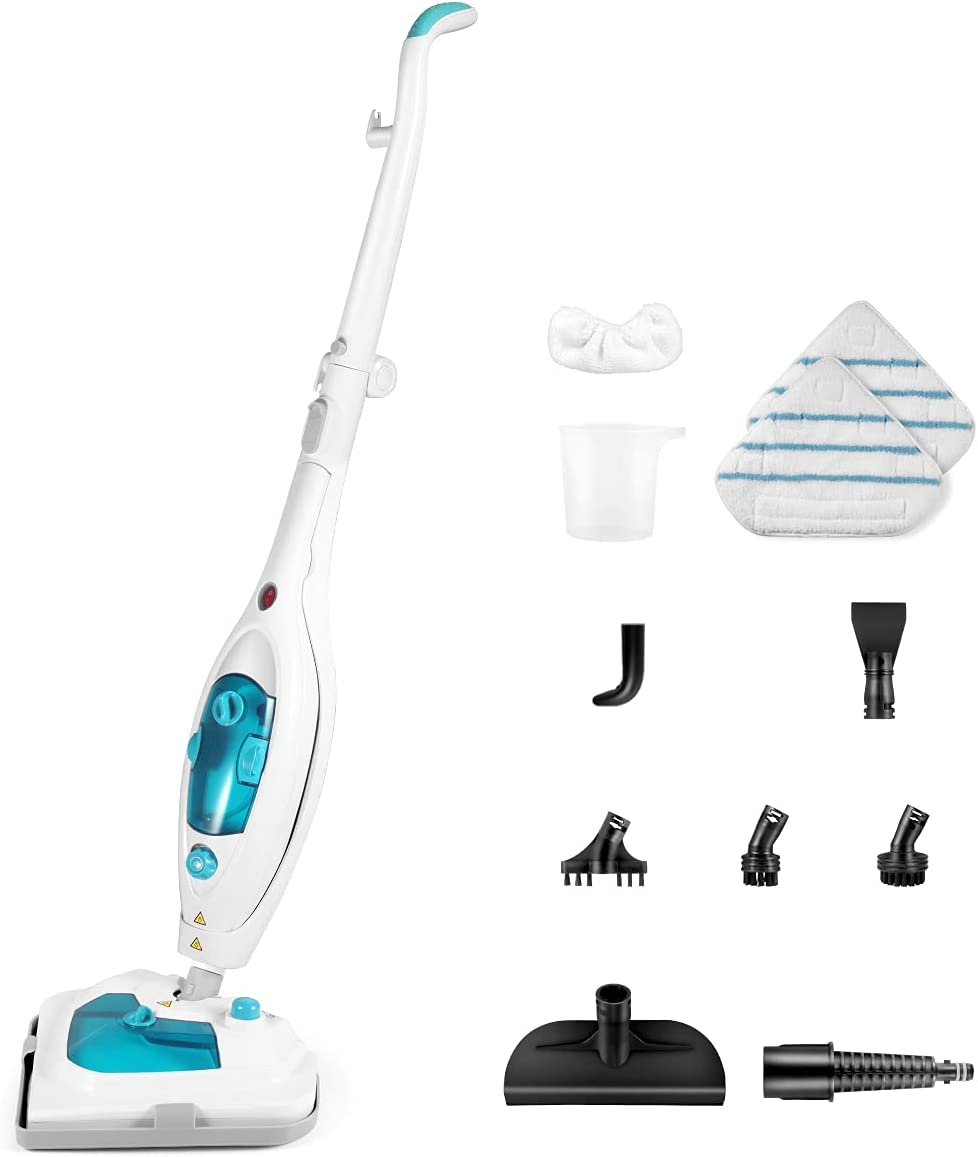 Steam Mop Mops for Floor Cleaning 1 year warranty 12 in 1 Detachable Surprise price Stea