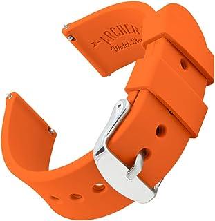 comprar comparacion Archer Watch Straps | Repuesto de Correa Reloj de Silicona para Hombre y Mujer, Caucho Fácil de Abrochar para Relojes y Sm...