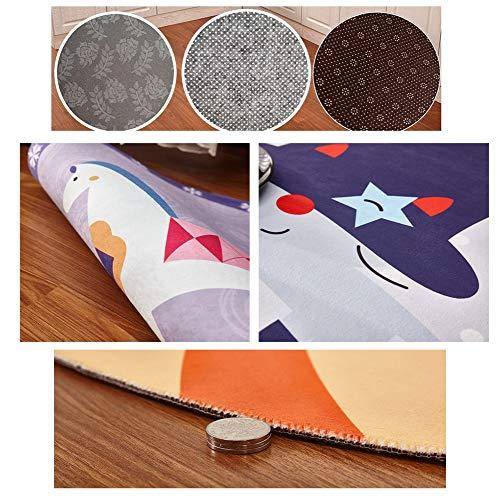 FCZBHT La Alfombra para Salon Simplicidad Moderna Mesa De Centro De Sofá Antideslizante Sin Depilación Adecuado para Dormitorios De Cocina, Pasillos, Lavable (Color : A, Size : 140 * 200cm)