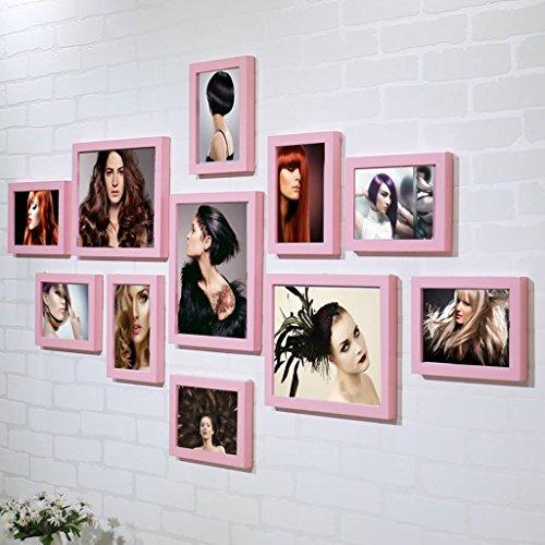 William 337 Cadre photo pour salon de coiffure en noir et blanc