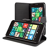 ECENCE Microsoft Lumia 640 Dual 640 LTE Wallet Flip Phone
