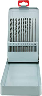 Grizzly G9750 Aircraft Extension Drill Length 13-Piece Set, 1/16-Inch, 1/4-Inch by 6-Inch Long