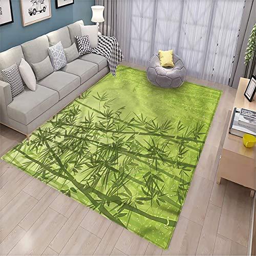 alfombra salon bambu fabricante LanQiao