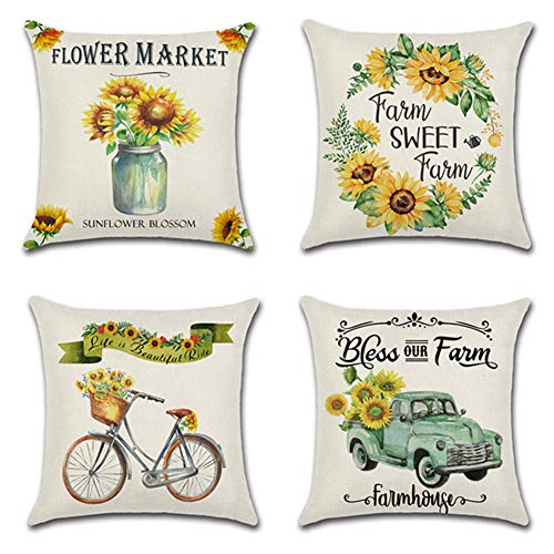 Sweet Farmhouse Pillow Cases 4 – Pillows Not Included $11.54 (45% OFF Coupon)