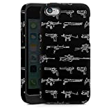 Coque Compatible avec Apple iPhone 5c Coque renforcée Coque Antichoc Pistolet...