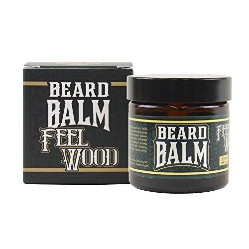 HEY JOE - Beard Balm Nº4 FEEL WOOD 50ml   Balsamo para barba 50ml con ARGÁN, JOJOBA, COCO y manteca de KARITÉ. Aroma a CEDRO Y ENEBRO