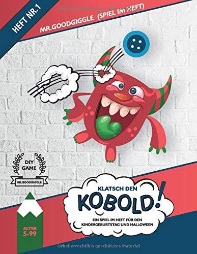 Klatsch den Kobold! Ein Spiel im Heft für den Kindergeburtstag und Halloween: Spiel im Heft Nr.1