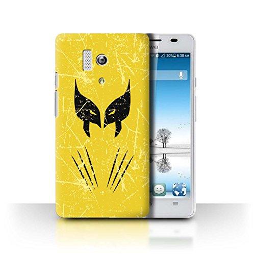 Stuff4Phone Case/Cover/Skin/huahy de CC/Anti de Hero Comic Art Collection Wolverine Inspiriert Huawei Honor 3
