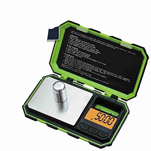 hehuanxiao Digitale Küchenwaage Mini Precision Digitalwaagen für Gold Sterling Silber Schmuck Gramm Waage Balance Weight Tara Funktion für Lebensmittel Medizin Kaffee