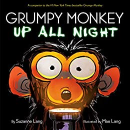Grumpy Monkey Up All Night by [Suzanne Lang, Max Lang]