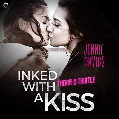 Inked with a Kiss audiobook cover art