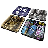 Doctor Who Untersetzer-Set  4  Stück