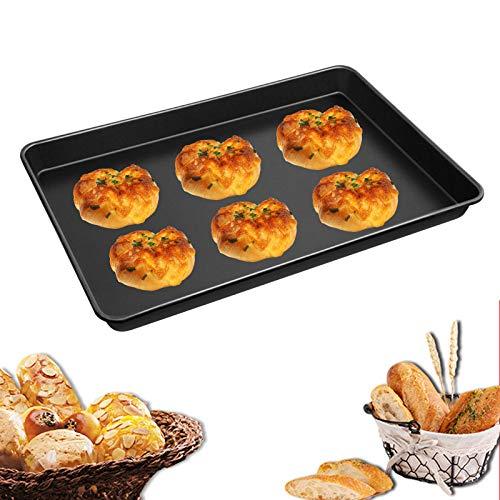 Utensilios de horneado antiadherentes de bandeja de horno para hornear y hacer galletas y pan.