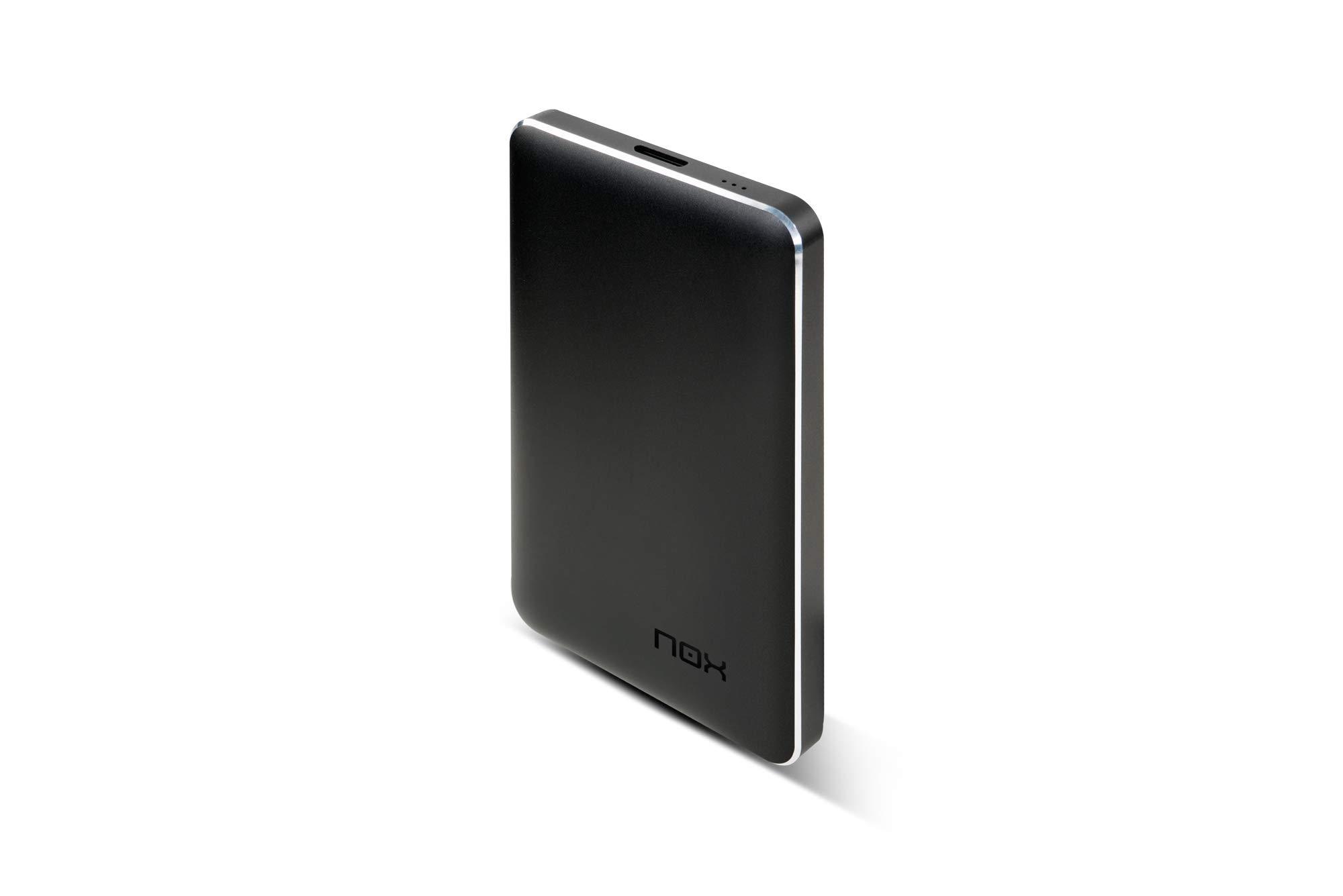 Nox Lite 2.5 - Caja externa para disco duro SATA, color negro: Amazon.es: Informática