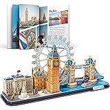 CubicFun Puzzle 3D Londres CityLine Rompecabezas 3D Juego de Modelos de Construcción...