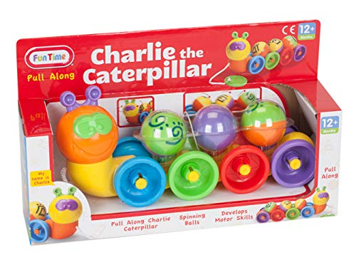 Fun Time Charlie The Caterpillar Actividad Juguete