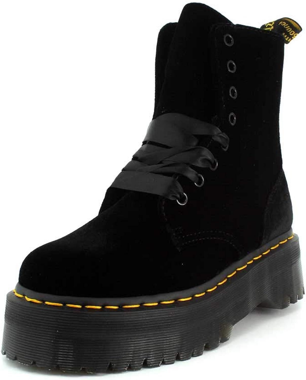 Dr. Martens Women's Jadon 8 Eye Velvet Boots
