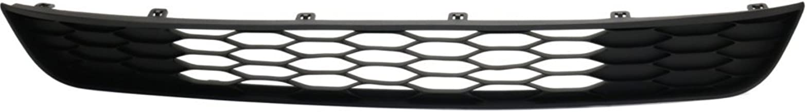 Bumper Grille compatible with ford Edge 11-14 Front Plastic and Towing Pkg