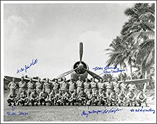 Black Sheep Squadron - Photograph Signed with co-signers