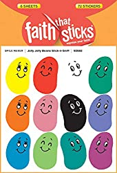 Jolly Jelly Beans Stick-n-Sniff (Faith That Sticks)
