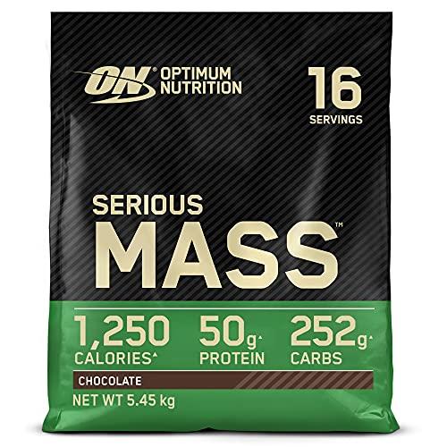 Optimum Nutrition Serious Mass Protein Powder High...