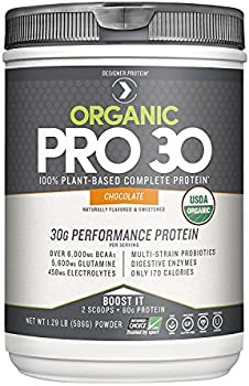Designer Protein Organic Pro 30 Chocolate 1.29 Lb Protein Powder