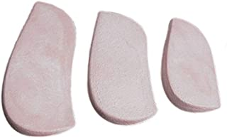 AliMed Molded Rubber Heel Wedges, Small, 3