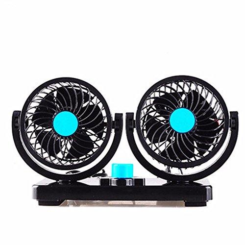 JISHUQICHEFUWU 12v Ventilateur de Voiture à Deux Sens/Ventilateur de Voiture/réfrigération Automatique/Fournitures d'été Auto